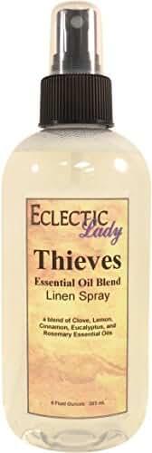 Thieves Essential Oil Blend Linen Spray, 8 ounces