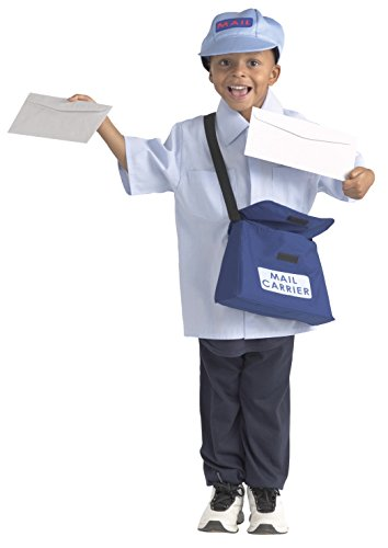 Brand New World Community Helper Mail Carrier Dramatic Dress Ups
