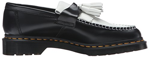 Dr. Mocassino Slip On Adrian Womens Nero + Bianco