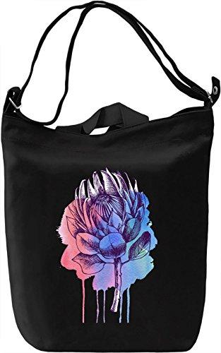 Bleeding Flower Borsa Giornaliera Canvas Canvas Day Bag| 100% Premium Cotton Canvas| DTG Printing|