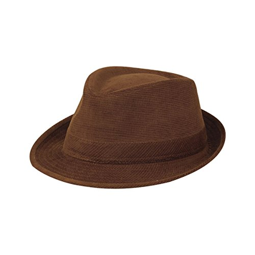 Hats & Caps Shop Corduroy Fedora Hat - By TheTargetBuys | (Lrg New Era)