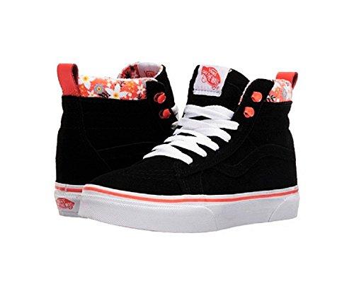 Vans Girl's SK8-HI (MTE) Floral Pop/Living Coral Skateboarding Shoes VN0A2XSNLZI (11.5 M US Little Kid)