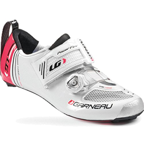 Louis Garneau 2015 Women Tri-400 Cycling Shoes White-41.5