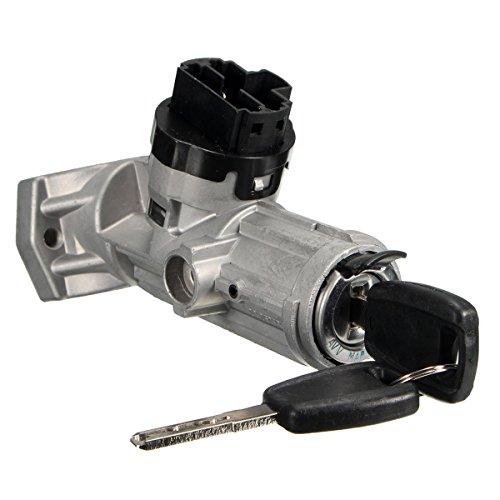 Ignition Barrel Lock,Key Lock Switch Ignition Lock Barrel/Steering Lock with 2 Keys: