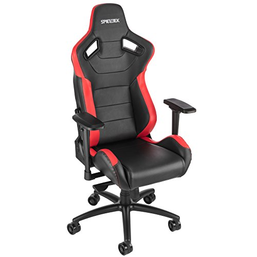 Spieltek Admiral Gaming Chair V2 (Black/Red) Spieltek