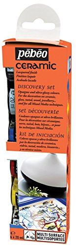 Pebeo Ceramic Discovery Assorted Enamel