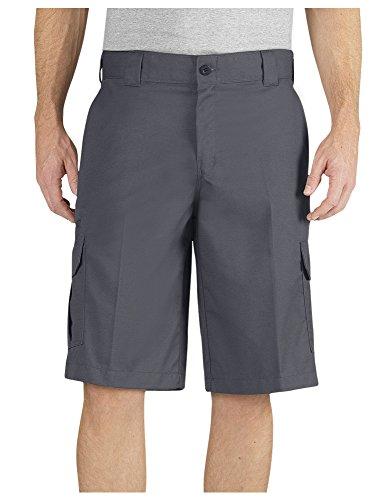 (Dickies Big Men's Flex Cargo Work Shorts Charcoal Size 50#495C)
