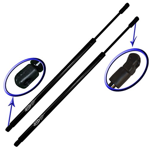 Two Rear Hatch Gas Charged Lift Supports for 2008-2016 Toyota Sequoia with Power Hatch. Left and Right Side. WGS-728-2
