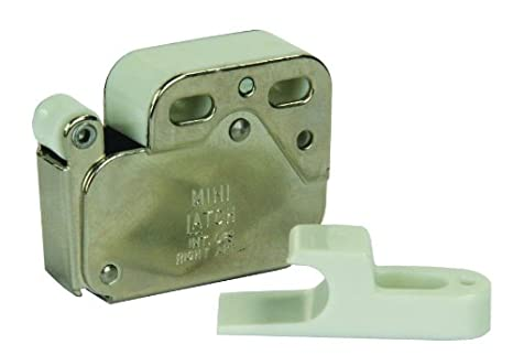 JR Products 70455 Push-To-Open Cabinet Catch