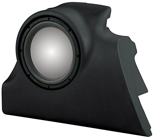 UNLOADED MTX Thunderform Subwoofer Enclosure (Black) for 2000-2007 Ford Focus ZX5 & ZX3 Holds 1-12