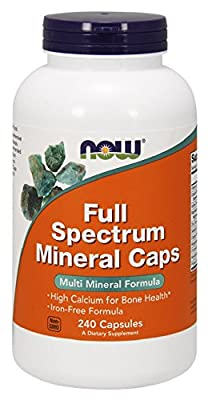 Now Foods, FULL SPECTRUM MINERAL CAPS