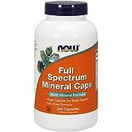 NOW Full Spectrum Mineral Caps,240 Capsules