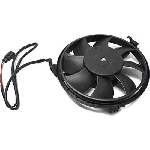(New A/C Fan And Motor Assembly For 2001-2005 Volkswagen Passat Auxiliary VW3115105)