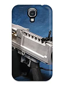 Excellent Galaxy S4 Case Tpu Cover Back Skin Protector Machine Gun