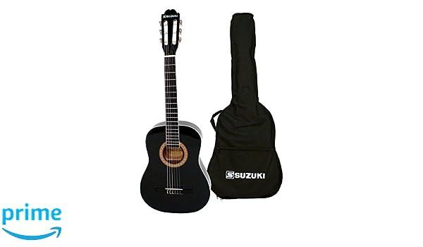 Suzuki SCG2 + 1/2BK guitarra clásica Beige: Amazon.es: Instrumentos musicales