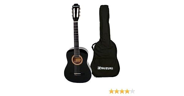 Suzuki SCG2 + 1/2BK guitarra clásica Beige: Amazon.es ...