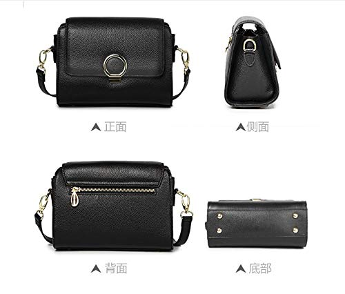 2018 Wild Meaeo Shoulder Fashion Leather Messenger Bag New Square Small 22x9x16cm Bag Handbag Lychee HHn8t1xSq
