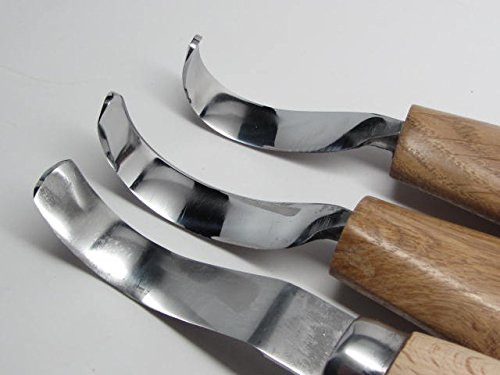 3 Deepwoods Woodcarving Tools Knives Detail Roughout String Bean Carver