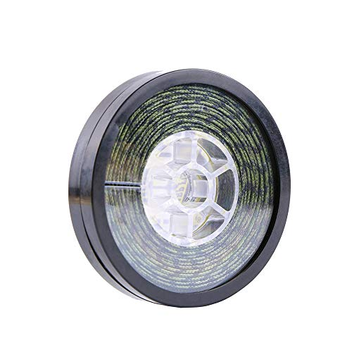 ANGRYFISH 10 Meters Lead Core Carp Fishing Line for Carp Rig Making Sinking Braided Line (CAMO Green, 13#25LB)