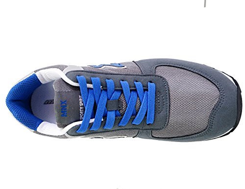 MNX15 Mens Elevator Shoes Height Increase 2.7 ENVY GRAY Gray ensxYZZkL