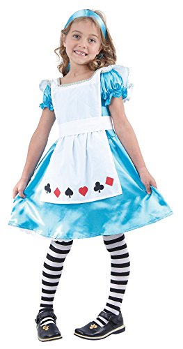 Large Girls Alice In Wonderland Costume (Party City Alice In Wonderland Costume)