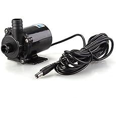 SODIAL(R)Brushless Pump CP40-1230 Fountain Pool 12V 840mA Black