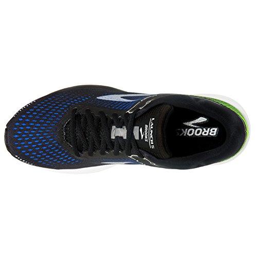 Brooks Men's Launch 5 Running Shoes Black/Blue/Green RkGUKZ291g