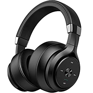 4 Driver Units EQ Bass 40 Hours Playtime Bluetooth Headphones Picun Wireless Headphones Over Ear Hybrid Hifi Stereo…