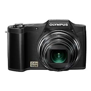 """Olympus SZ-14 - Cámara compacta de 14 Mp (pantalla de 3"""", zoom óptico 24x, estabilizador de imagen óptico), negro"""