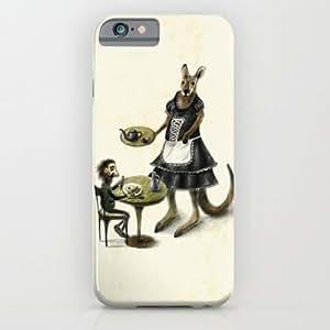 DAOJIE Generic Kangaroo Cafe iPhone 6 plus 5.5 inch Case