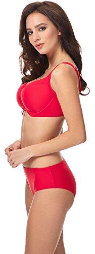 Merry Style Bikini Conjunto para mujer CD 18 Rojo