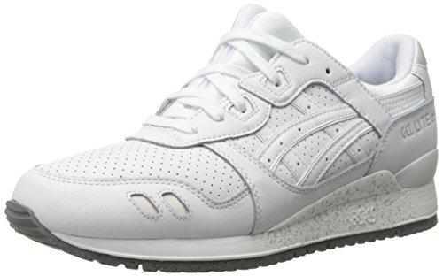 ASICS Herren GEL-Lyte III Retro Sneaker Weiss weiss