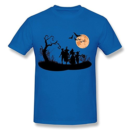 WunoD Men's Happy Halloween Bird T-shirt Size XL -