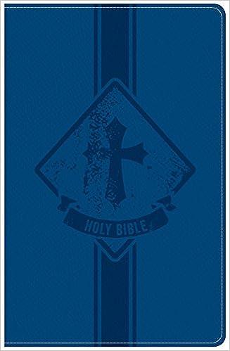 KJV Kids Bible, Royal Blue LeatherTouch: Holman Bible Staff