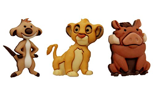 Jesse James Embellishments Disney Simba, Timon & Pumba