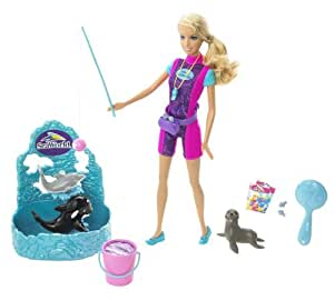 Barbie I Can Be: SeaWorld Trainer Doll Play Set