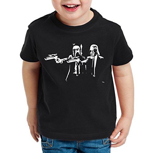 T Black per t Wars Pulp Darth Star bambini Shirt Boba Fett A Empire Fiction n Eqwfgg