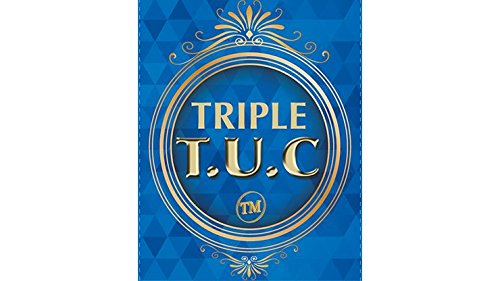 Triple TUC Half Dollar (D0183) Gimmicks and Online Instructions by Tango - Trick by Tango Magic (Image #1)