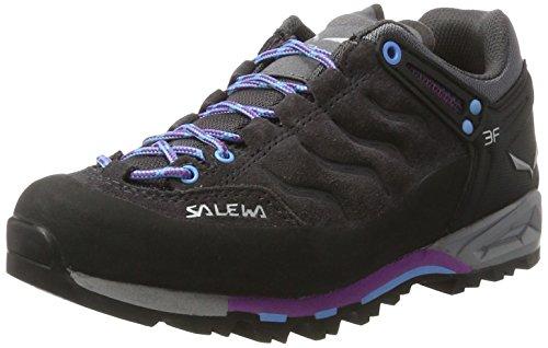 SALEWA WS Mtn Trainer, Zapatillas de Senderismo para Mujer Gris/Verde (Magnet/Haze 0672)