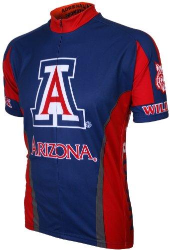 NCAA Arizona Cycling Jersey,Small, Blue