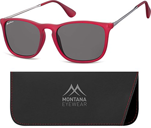 Smoked Montana Multicolor Gafas de Lenses Red Adulto Sol Unisex rUr06wq