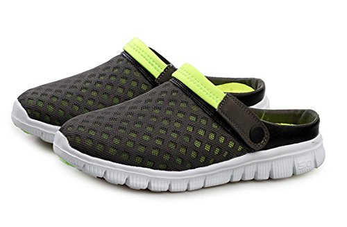 6 large women couple half shoes size 2017 models burst mesh slippers cloth men sandals casual and 7qwZAPa