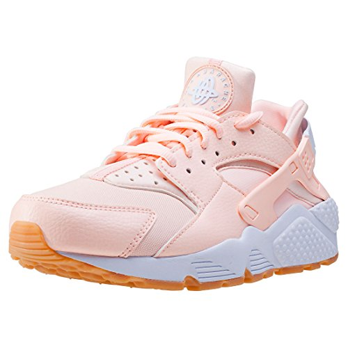 Nike Wmns Air Huarache Run, Entrenadores para Mujer Sunset Tint/White-gum Yellow