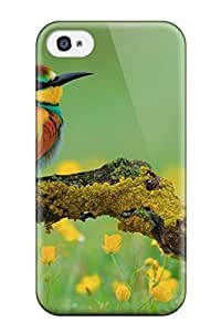 New ipod touch 4 Case Cover Casing(nature Animal Bird National Geographic Green Flower)