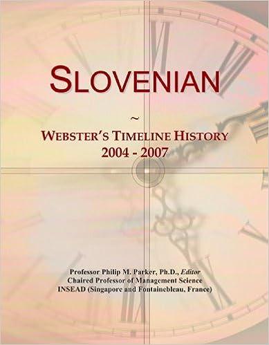 Slovenian: Webster's Timeline History, 2004 - 2007