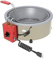 Progás, P29592, Tacho Fritadeira Elétrica Industrial Progas 7Litros 127V, Cor Inox, Aço