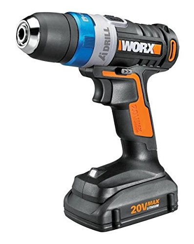 WORX Ai 20V Max Li-Ion Cordless Drill, 3/8-in