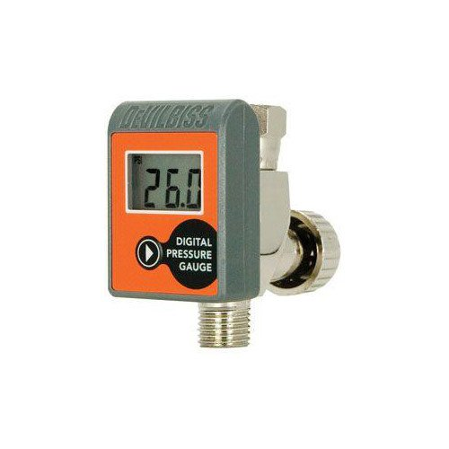 - DeVilbiss HAV555 Digital Gauge with Air Adjusting Valve