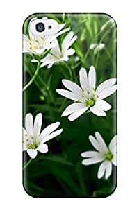 For Iphone Case, High Quality Flower For Iphone 4/4s Cover Cases