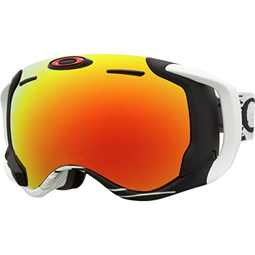Oakley Airwave 1.5 Goggles - Men's Hyperdrive White16 w/Fire-Apple, One Size